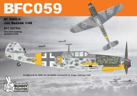 Bf 109G-4 Reznak 1/48  - 3