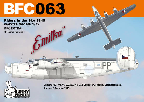 Riders in the Sky 1945 w/extra decals 1/72  - 3