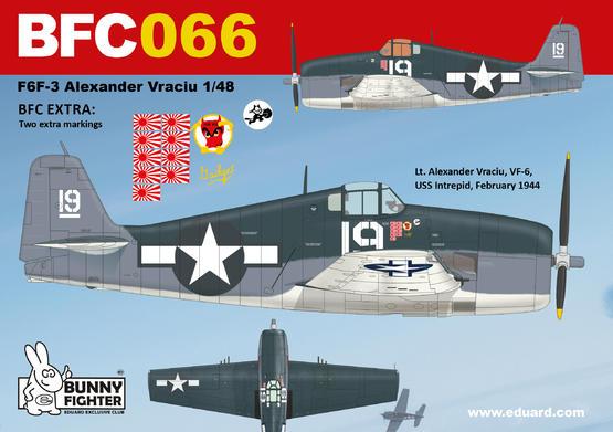 F6F-3 A. Vraciu 1/48  - 3