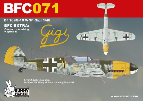 Bf 109G-10 WNF/Diana Gigi 1/48  - 3