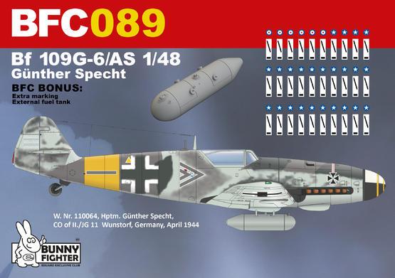 Bf 109G-5/AS Günther Specht 1/48  - 3
