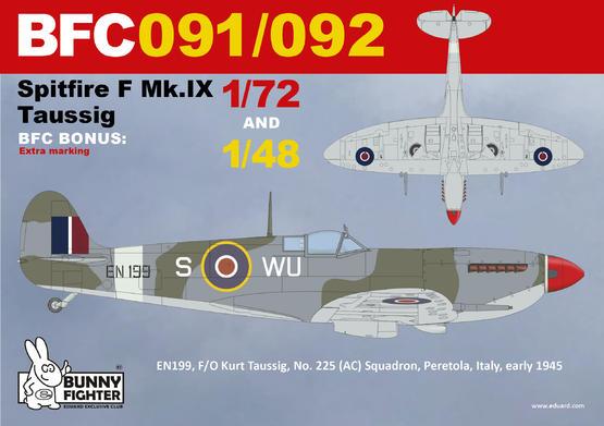 Spitfire F Mk.IX Taussig 1/72  - 3