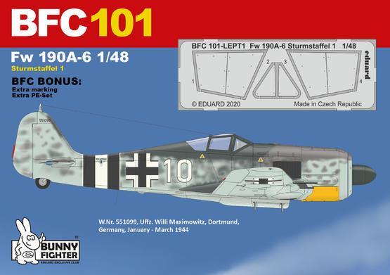 Fw 190A-6 Sturmstaffel 1/48  - 3
