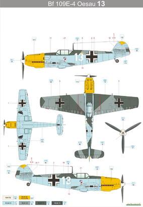 Bf 109E-4  1/48 1/48  - 3