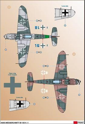 Me 109 K-4 1/48  - 3