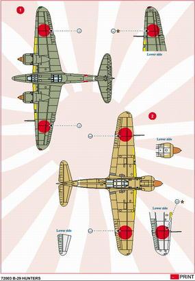 B-29 Hunters 1/72  - 3