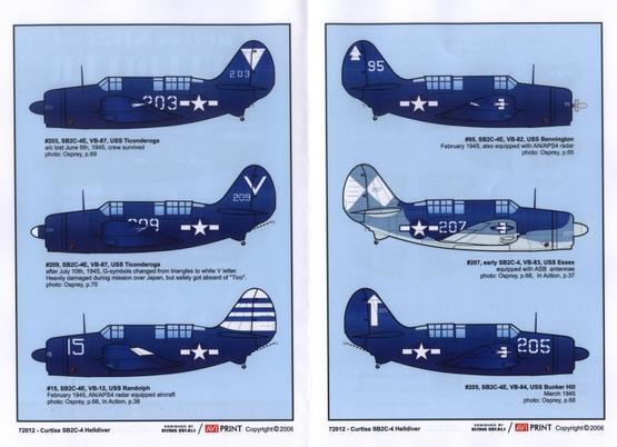 Curtiss SB2C-4 Helldiver 1/72  - 3