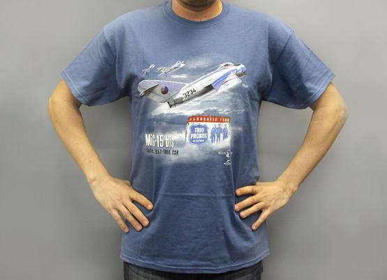 """T-Shirt """"Československé patnáctky"""" (MiG-15) (XXL)  - 3"""