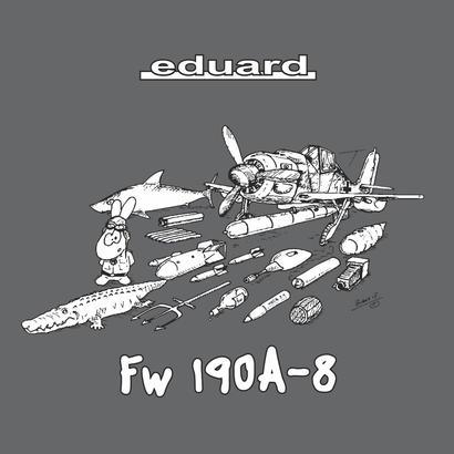 Fw 190A-8 t-shirt  M  - 3