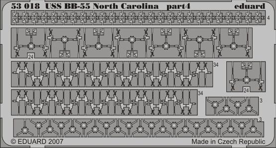 USS BB-55 North Carolina 1/350  - 4