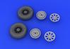 F4U-1 wheels 1/32 - 4/5