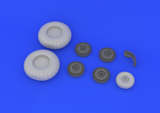 Ju 88 wheels early  1/32 1/32  - 4