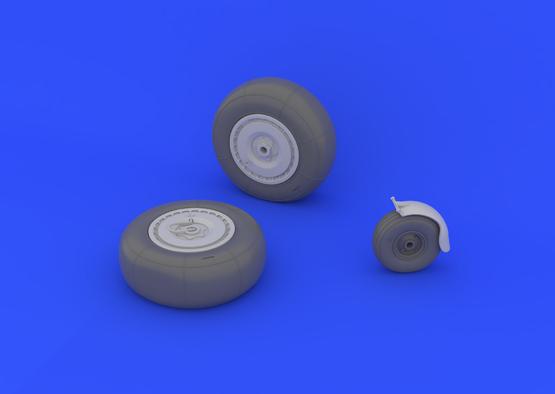 Ju 88 wheels late 1/32  - 4