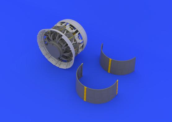 F4U-1 двигатель 1/32  - 4