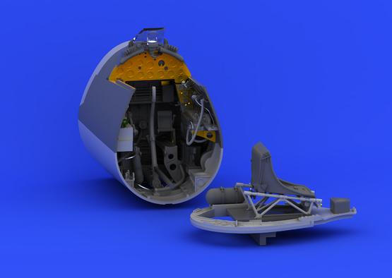 F4U-1 クックピット 1/32  - 4