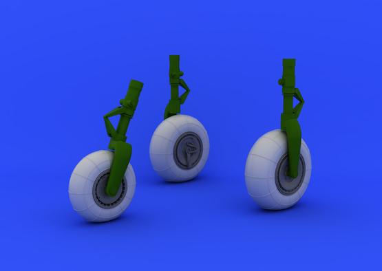 Do 335B wheels  1/32 1/32  - 4