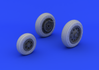 F-104 undercarriage wheels early  1/32 1/32 - 4/5