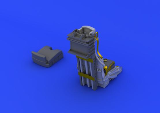 F-104 C2 катапультируемое кресло 1/32  - 4