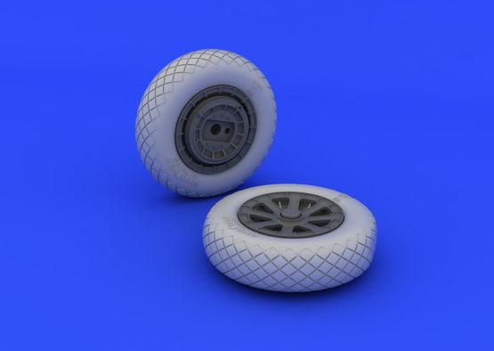 F4U-1 wheels diamond pattern 1/32  - 4
