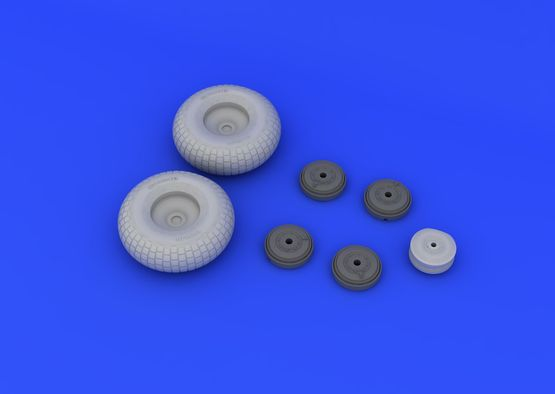 Mosquito Mk.VI wheels  1/32 1/32  - 4