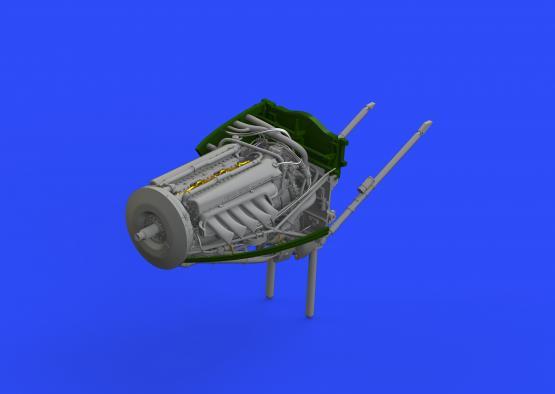Mosquito FB Mk.VI left engine 1/32  - 4