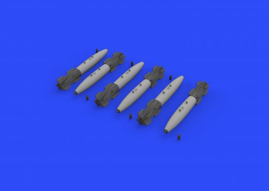Mk.82 bomb w/ Mk.15 Snakeye Fins 1/32  - 4