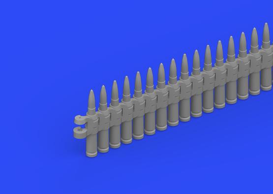 12,7 mm 弾帯 1/35  - 4