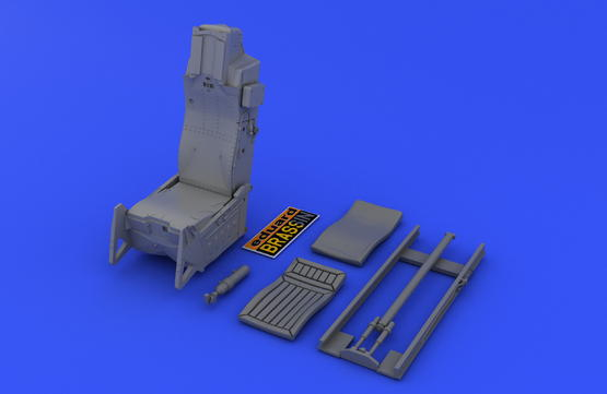F-16 seat 1/48  - 4