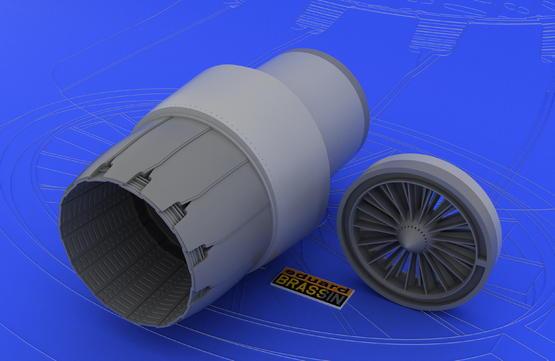 F-16N engine 1/48  - 4