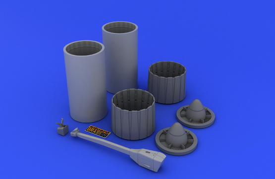 F-4 exhaust nozzles late  1/48 1/48  - 4