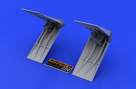 F-16 air brakes 1/48  - 4