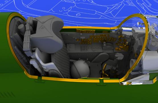 MiG-21BIS interior 1/48  - 4