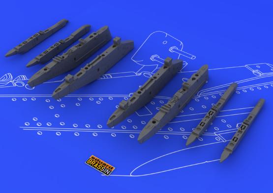 Su-25K wing pylons 1/48  - 4
