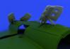 MiG-21 brzdící štíty pozdní verze 1/48 - 4/4