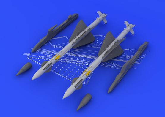R-23R / AA-7 Apex (2pcs) 1/48  - 4