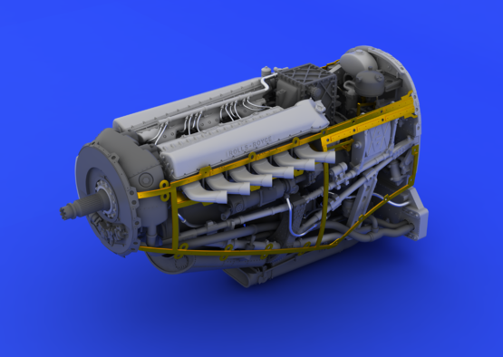 Spitfire Mk.IX motor 1/48  - 4