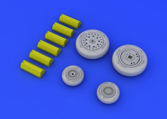 F-4B/N wheels 1/48  - 4