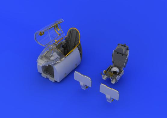 МиГ-21R интерьер 1/48  - 4