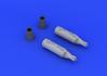 UB-16 rocket launcher  (2 pcs) 1/48 - 4/5