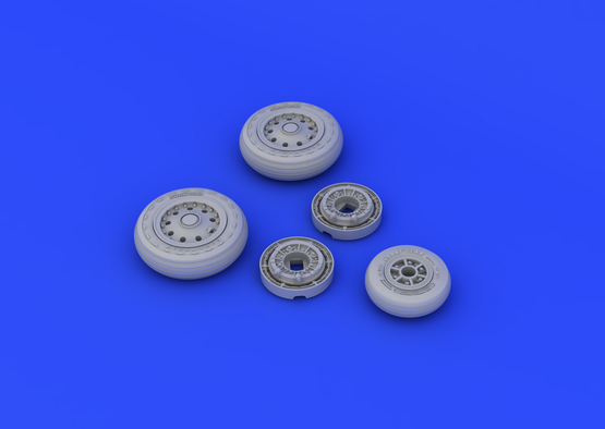 F-104 undercarriage wheels early 1/48  - 4