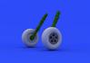 Spitfire Mk.V wheels 1/48 - 4/4