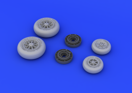 F-104 undercarriage wheels late 1/48  - 4