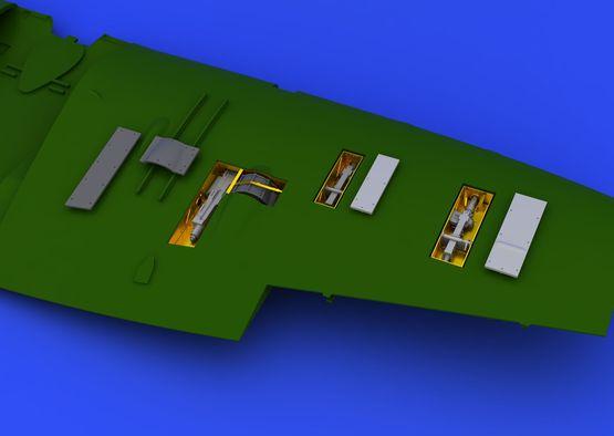 Spitfire Mk.Vb gun bays  1/48 1/48  - 4