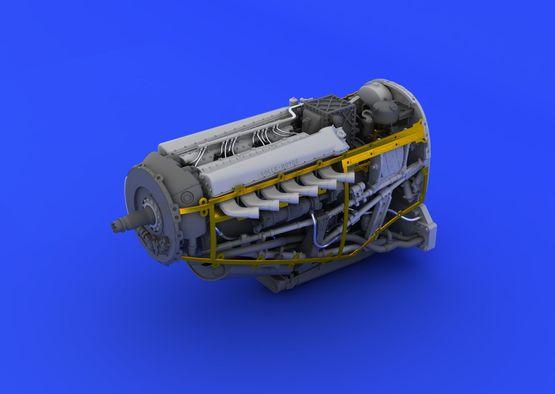 Spitfire Mk.VIII motor 1/48  - 4