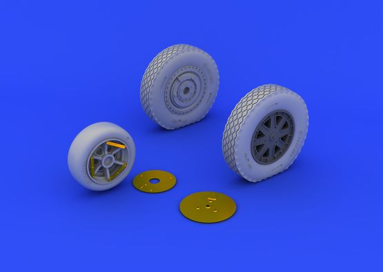 P-39 wheels late 1/48  - 4
