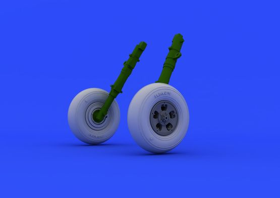 Spitfire Mk.I wheels 1/48  - 4