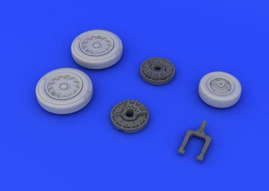 A-4E/F wheels 1/48  - 4