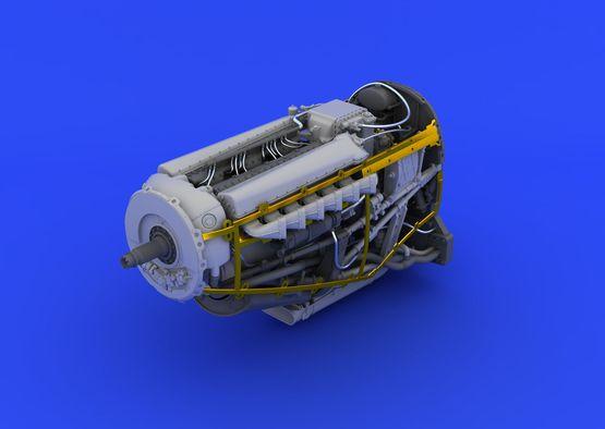 Spitfire Mk.XVI engine 1/48  - 4