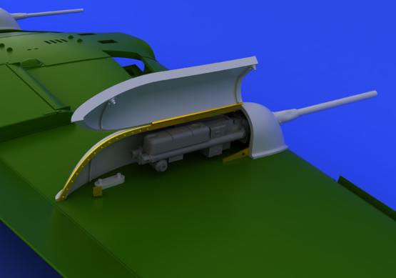 Bf 109 подвесные пушки 1/48  - 4