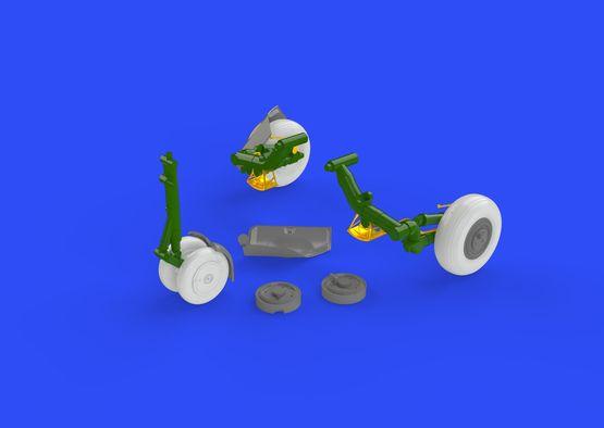 МиГ-23БН колёса 1/48  - 4